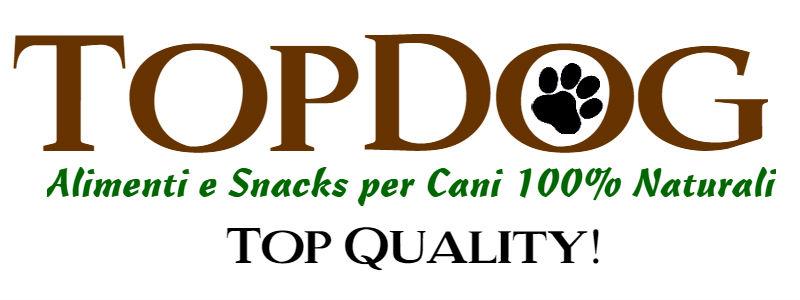 TOP-Dog – I Migliori Alimenti e Snacks Naturali per cani e gatti