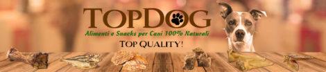 Snacks naturali per cani top dog