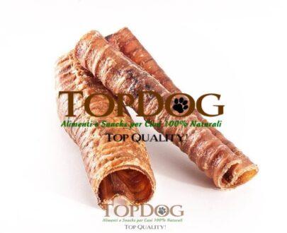 Trachea di cavallo essiccata per cani