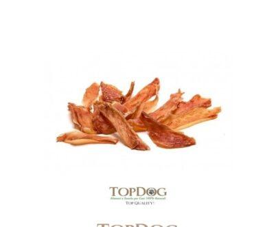 Filetti di petto di pollo essiccati per cani Premium