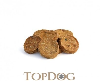 Rotolini di merluzzo essiccati per cani