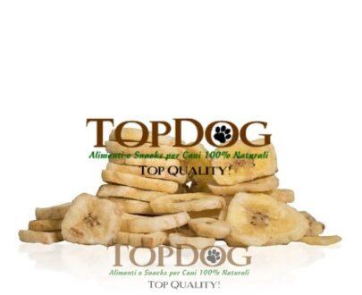 Banana per cani – essiccata a fette 500gr