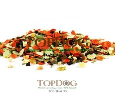 Frutta e Verdura Mix per cani – BARF 500gr
