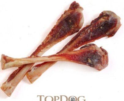 Ossa di Fibula di Prosciutto per cani 3pz