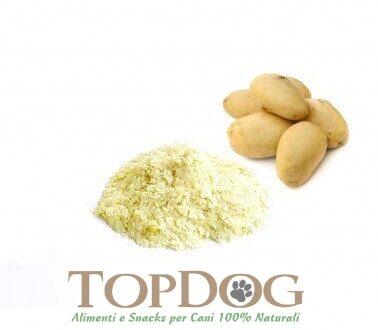 Fiocchi di patate disidratate BIO per cani 500gr