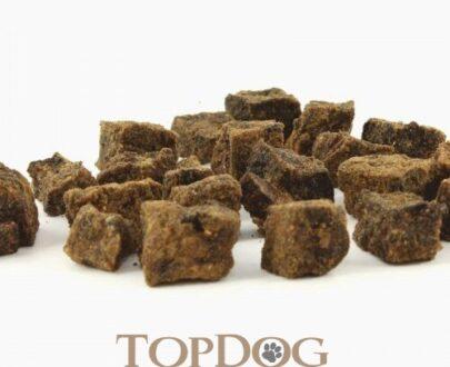 Carne essiccata di Manzo a cubetti per cani
