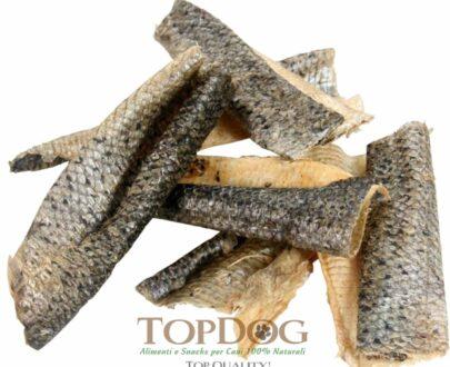 Pelle di Salmone essiccata per cani